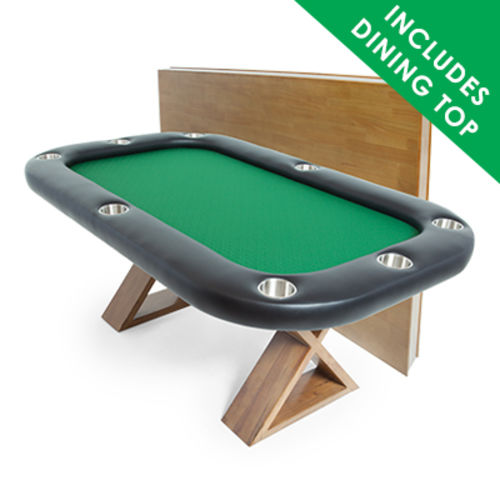 The Helmsley Poker Table with dealer cutout on selector