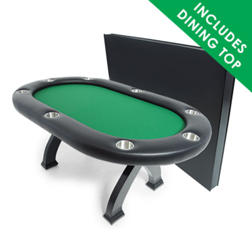 X2 Mini Poker Dining Table with dealer section on selector