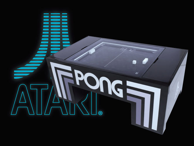 3D Atari Pong Coffee Table  on selector