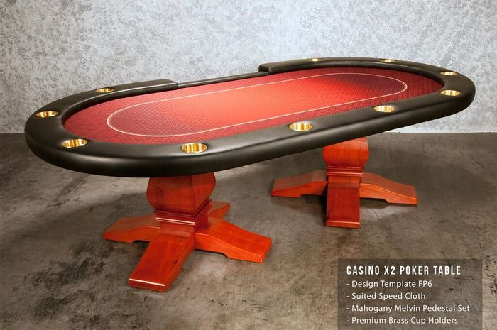 The Casino X2 Poker Table on selector