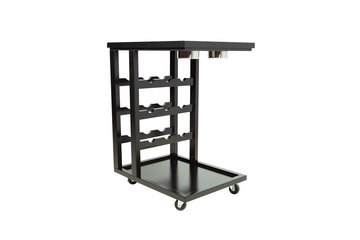 Beverage Cart In Black