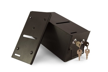 Regular Metal Drop Box - include stainless steel drop slot