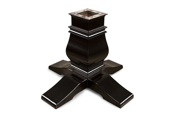 Melvin Pedestal Leg Upgrade - Black Gloss