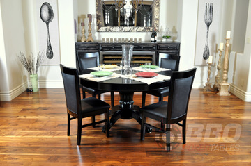 Black Round Dining Top (Levity)