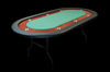 Folding Poker Table5