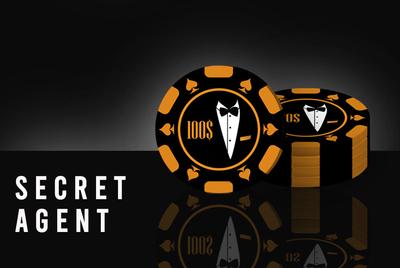 """""""Secret Agent"""" Poker Chipset"""