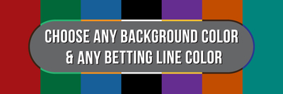 FP - Custom Bet-line / Background