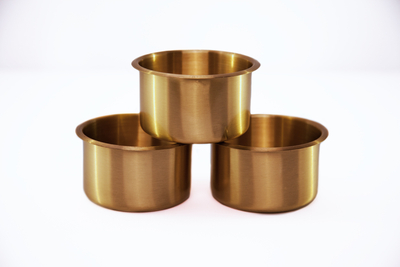4 Inch Premium Brass Cup Holder Per Piece