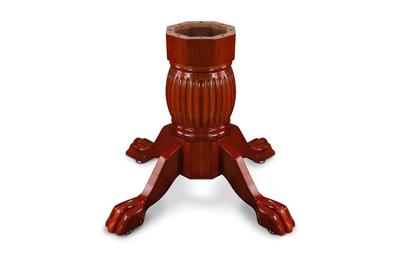 Duke Pedestal Leg Set-Mahogany