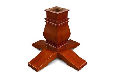 Melvin Pedestal Leg Upgrade-Mahogany